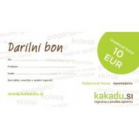 Darilni bon za 10 EUR