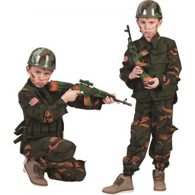 Pustni kostum Vojak