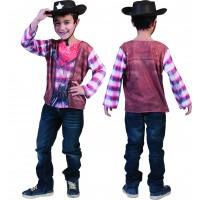 Espa 3D karnevalska majica kauboj