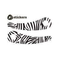 Wishbone naljepnice zebra