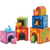 Djeco kocke i male životinje 6 + 6