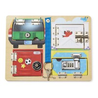 M&D tabla s 4 ključavnicami