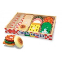 M&D Leseni igralni set Naredi sendvič