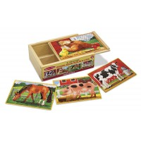 M&D slagalice u kutiji Farma, 12 komada