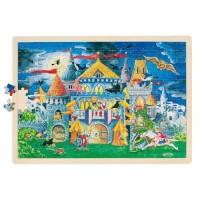 Goki puzzle pravljični grad