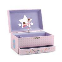 Djeco glasbena skrinjica balerina