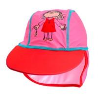 Kapa z UV zaščito Alfons roza 74-80