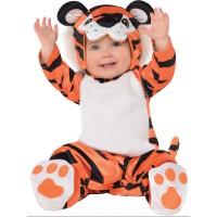 Fancy pustni kostum mali tiger