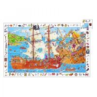 Djeco pirati sestavljanka 100 kosov