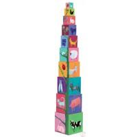 Djeco - kocke stup, motiv priroda i životinje