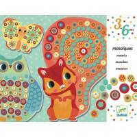 Djeco mozaik živali
