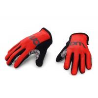 Woom kolesarske rokavice rdeče 5 (14,5 cm)