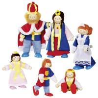 Goki komplet lutk kraljeva družina