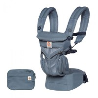 Ergobaby nosilka OMNI 360 COOL AIR oxford modra