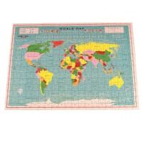 Rex sestavljanka v tubi zemljevid sveta