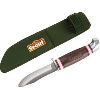 Scout nož za rezbarjenje s torbico