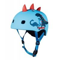 Micro S 48-53 cm dječja kaciga Dinosaur 3D