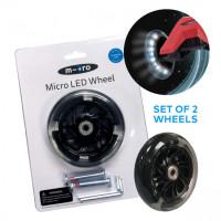 Micro LED sprednji kolesi za skiro Maxi