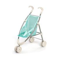 Miniland voziček za punčke moder