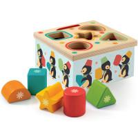 Djeco Wooden Sorting Box Junzo