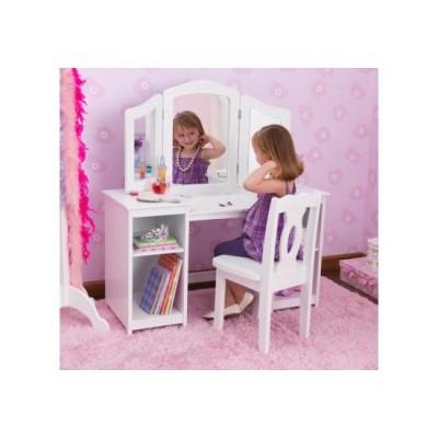 Kid Kraft kozmetična mizica in stol Deluxe