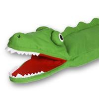 Plišasta ročna lutka Krokodil