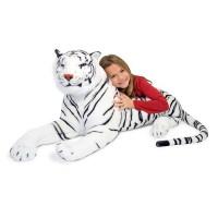M&D veliki plišasti beli tiger